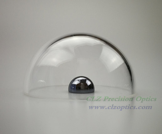 Optical Dome, 50mm diameter, 2mm thick, 25mm height, N-BK7 or equivalent type Dome Windows
