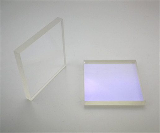 BK7 Precision Windows, 75x75mm, 8mm Thick, 1/4 wave, Ravg ≤0.5% @ 630-1100nm